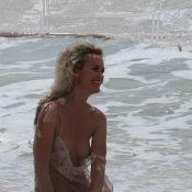 La superbe Laeticia Hallyday se met à nu...  sur la plage de Saint-barth ! (réactualisé)
