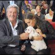 Alain Delon et Mathilde Seigner, sur France 2, le 28 octobre 2009 !