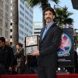 son Chuck Lorre, lors de la remise de l'Etoile, sur le Walk of Fame d'Hollywood, le 12 mars 2009 !