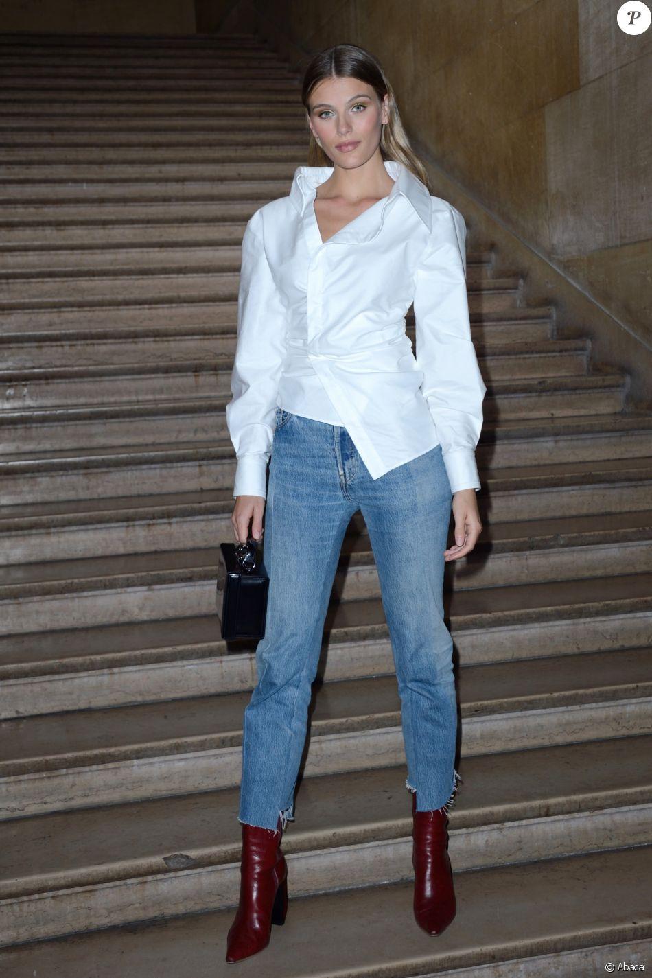 Madison Headrick - Défilé Georges Hobeika, collection Haute Couture printemps-été 2018-2019 à Paris, le 22 janvier 2018.