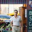"""Justin Timberlake, Kate Winslet et Juno Temple sur le tournage du nouveau film de Woody Allen """"Untitled Woody Allen Project"""" à New York City, New York, Etats-Unis, le 18 octobre 2016."""