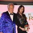 Massimo Gargia, Vanessa Demouy - Dîner de la 41ème édition du Prix The Best à l'hôtel George V à Paris le 25 janvier 2018. © Philippe Baldini/Bestimage