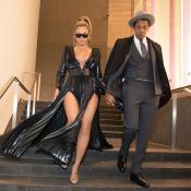 Beyoncé : Splendide pour applaudir JAY-Z, juste avant les Grammy