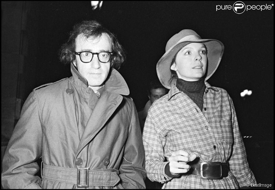 Woody Allen et Diane Keaton à Paris en 1974