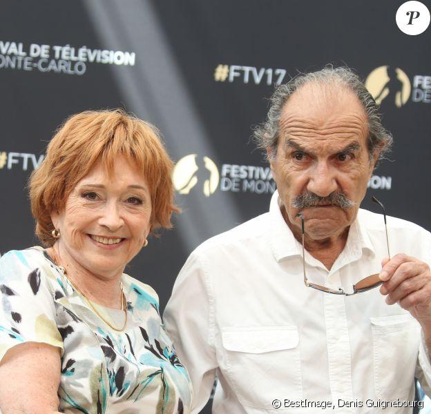 Gérard Hernandez et Marion Game - 57ème Festival de télévision de Monte-Carlo, le 17 juin 2017. © Denis Guignebourg/Bestimage