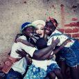 Madonna avec ses enfants David, Mercy, Estere et Stella sur Instagram le 12 septembre. Photo prise en début d'année au Malawi.