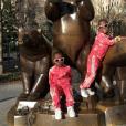 Estere et Stella sur Instagram, le 10 avril 2017.