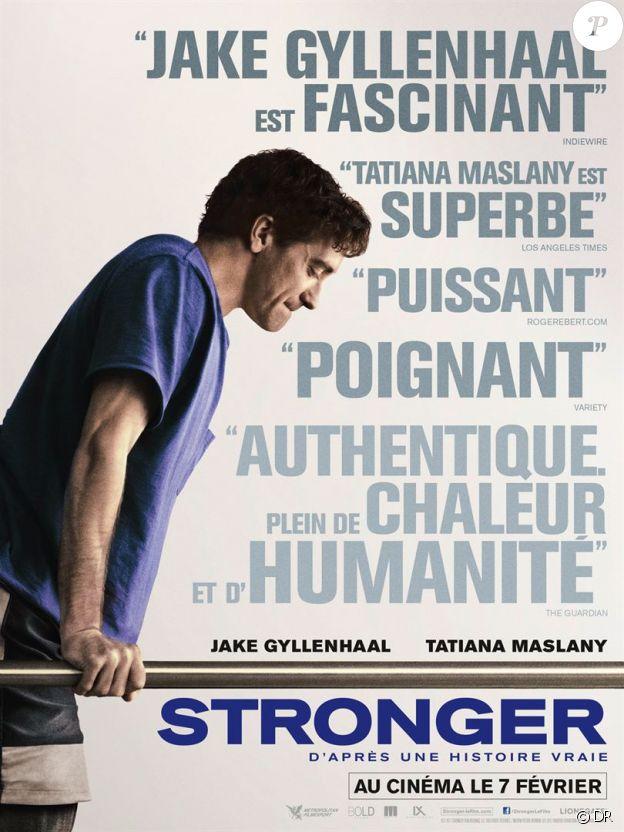 Affiche du film Stronger, en salles le 7 février 2018