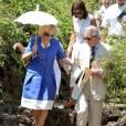 Le Prince Charles et son épouse, Camilla Parker Bowles, s'offrent une escapade dans le Parc National des Galapagos le lundi 16 mars 2009.