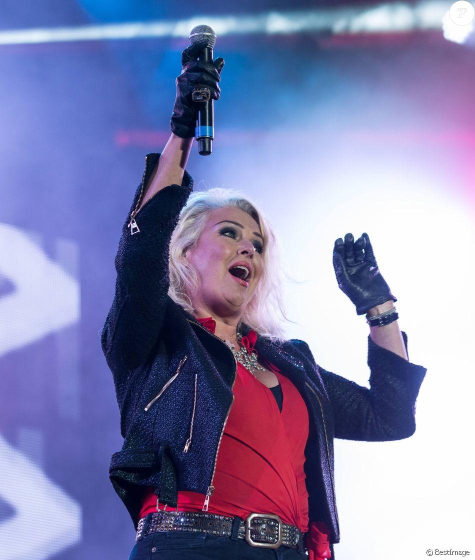 "Kim Wilde lors du ""80's Rewind Festival 2017"" à Henley, août 2017."