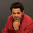 Jamel Debbouze parle de son bras dans l'émission Au Tableau!, le 7 février 2018.
