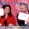 Reportage sur le couple formé par Raquel Garrido et Alexis Corbière dans C à vous - France 5 le 12 février 2018