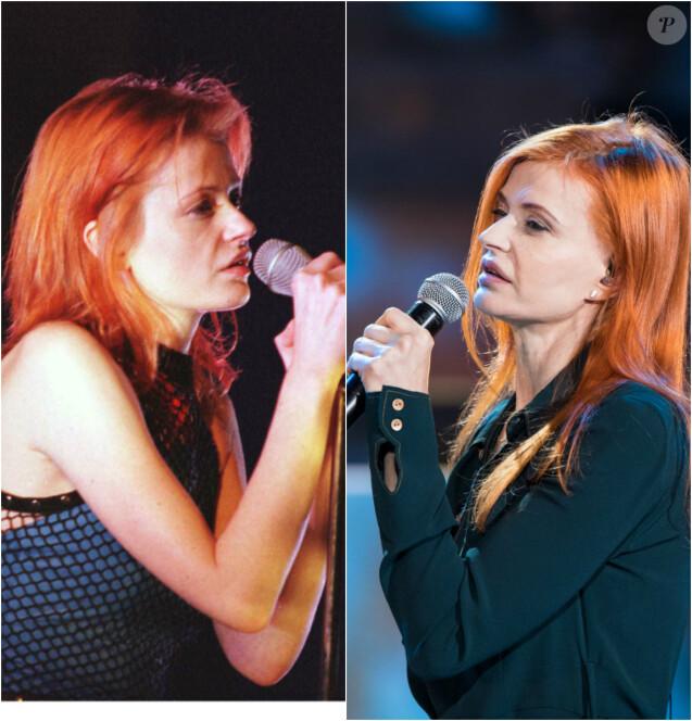 Axelle Red en 1997 et en 2016
