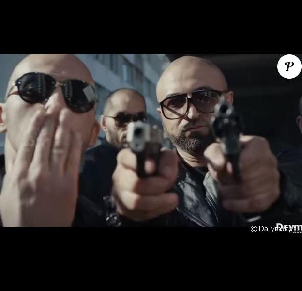 """Le rappeur Samat dans le clip """"Ghet Apens""""."""
