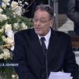 Le discours de Jean Reno lors des obsèques de Johnny Hallyday, le 9 décembre 2017 à Paris.