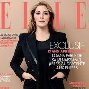 Loana métamorphosée : Chic et amincie en couverture du magazine ELLE