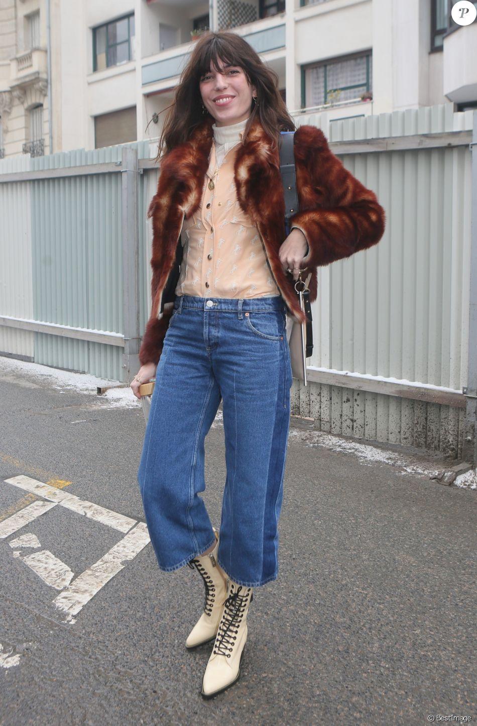 """Lou Doillon - Défilé de mode """"Chloé"""", collection prêt-à-porter automne-hiver 2018/2019 à la Maison de la Radio. Paris, le 1er mars 2018 © CVS-Veeren / Bestimage"""