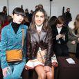 """Kozue Akimoto et Camila Coelho - People au défilé de mode """"Chloé"""", collection prêt-à-porter automne-hiver 2018/2019, à Paris le 1er mars 2018"""