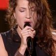"""Aliénor dans """"The Voice 7"""" sur TF1 le 3 mars 2018."""