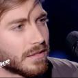 """Petit Green dans """"The Voice 7"""" sur TF1 le 3 mars 2018."""