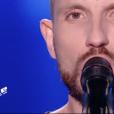"""Eric Jetner dans """"The Voice 7"""" sur TF1 le 3 mars 2018."""