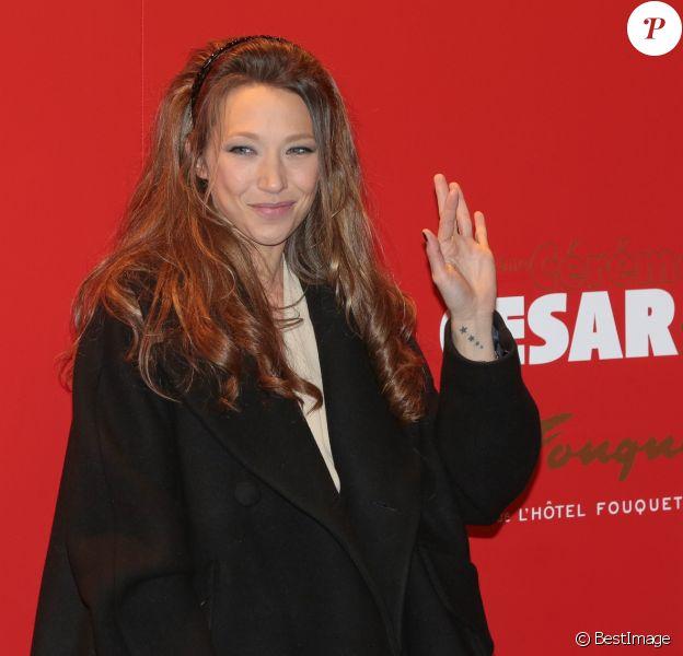 Laura Smet - Photocall au Fouquet's lors de la 40e cérémonie des César à Paris. Le 20 février 2015