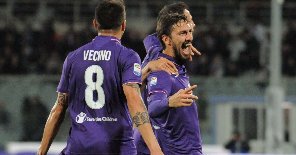Davide Astori en avril 2017....