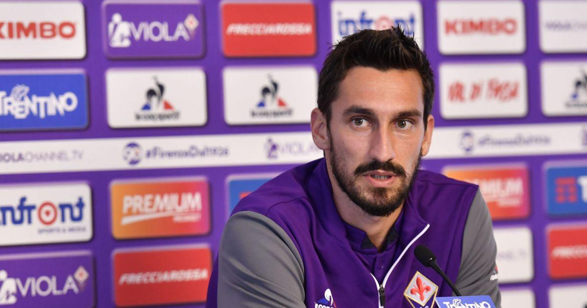 Davide Astori de l'AC Fiorentina en 2016....