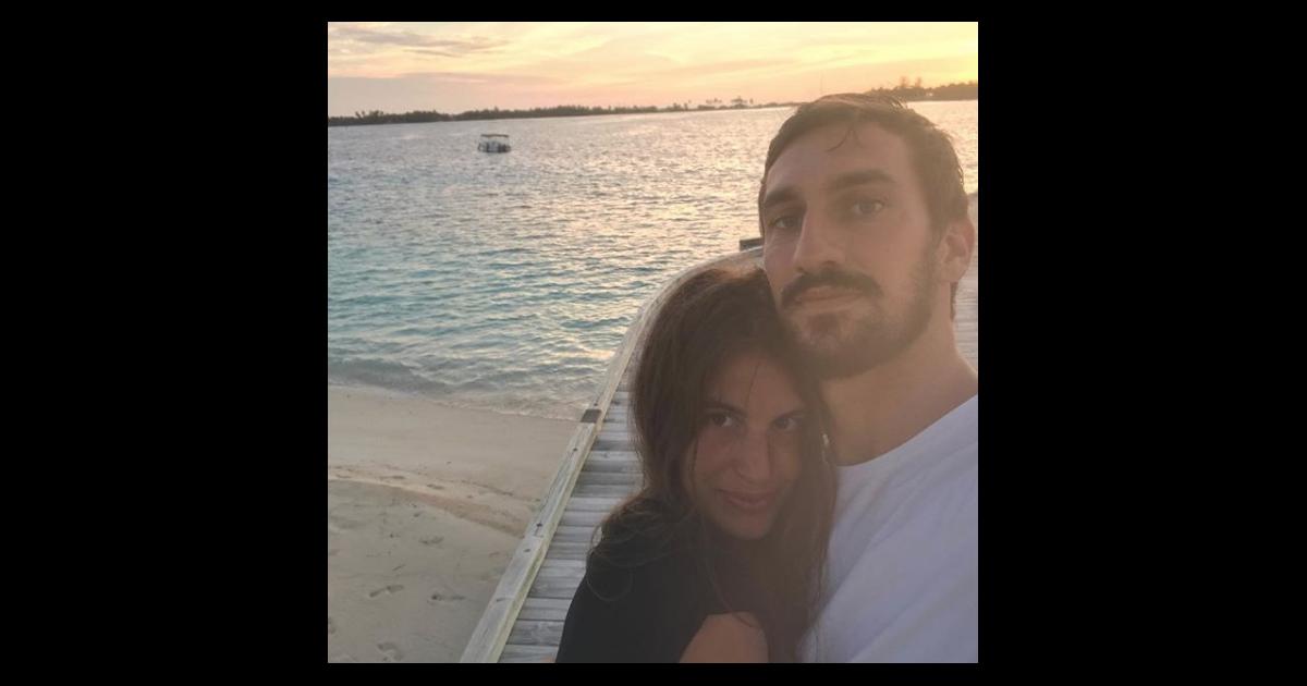 Davide Astori et sa compagne Francesca Fioretti, en ...