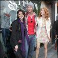 """Ashley Greene, Kellan Lutz et Rachelle LeFevre, au magasin Kitson de Los Angeles, pour la sortie du DVD de """"Twilight"""", le samedi 21 mars 2009."""