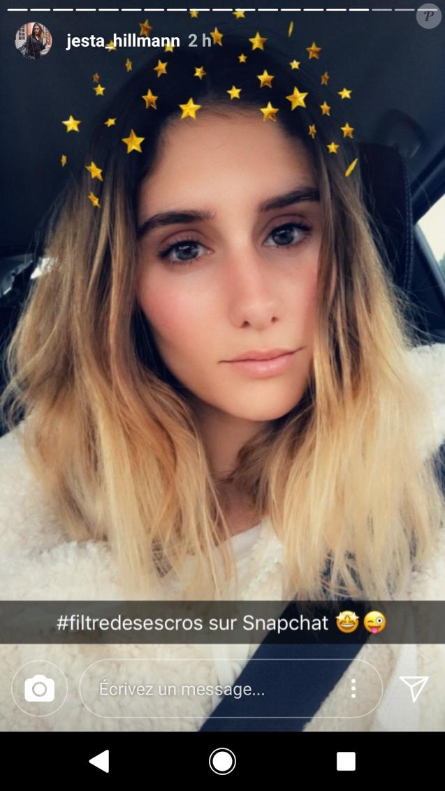 Jesta sur Instagram, 4 mars 2018