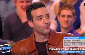 Tarek Boudali en couple avec Camille Cerf ? Il s'explique en direct !