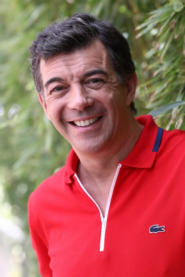 Stéphane Plaza au village lors de la finale homme des internationaux de France de Roland Garros à Paris, le 11 juin 2017. © Dominique Jacovides - Cyril Moreau/ Bestimage