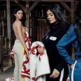 Kendall, Kylie Jenner, Kim, Kourtney et Khloé Kardashian posent pour Calvin Klein.