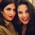 """Géraldine Nakache et sa cousine Lorrah Cortesi, candidate de """"The Voice 7"""" - Instagram, 10 mars 2018"""