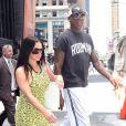 Dennis Rodman à New York le 22 juin 2017, fraîchement rentré de son cinquième séjour en Corée du Nord.