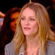 Vanessa Paradis et Vincent Macaigne sur le plateau de l'émission Quotidien (TMC) - 12 mars 2018