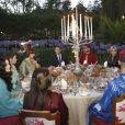 Emmanuel Macron et Brigitte Macron ont été accueillis le 14 juin 2017 à Rabat pour l'iftar par le roi Mohammed VI du Maroc, sa femme la princesse Lalla Salma du Maroc et leurs enfants le prince Moulay El Hassan et la princesse Lalla Khadija ainsi que le prince Moulay Rachid et les princesses Lalla Meryem, Lalla Hasnaa et Lalla Hasma. © Abdeljalil Bounhar/Pool/Bestimage