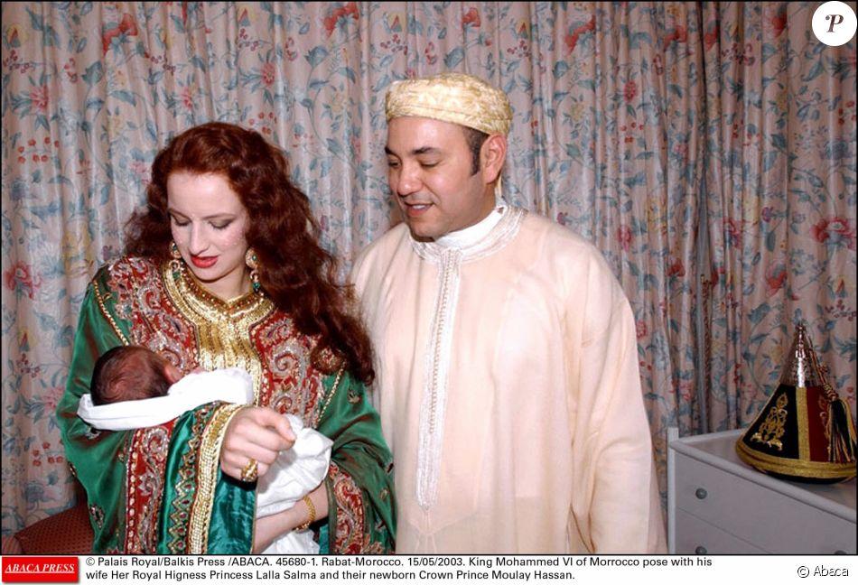 La rencontre de mohammed 6 et lalla salma