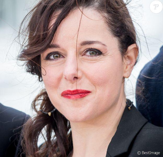 """Laure Calamy - Photocall du film """"Rester Vertical"""" lors du 69e Festival International du Film de Cannes. Le 12 mai 2016"""