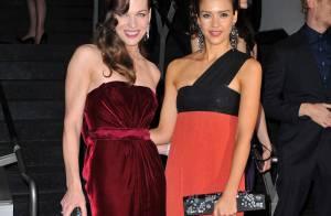 Les superbes Jessica Alba et Milla Jovovich... complices et tellement glamour à New York !