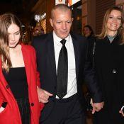 Antonio Banderas s'affiche chauve aux côtés de sa fille et de sa chérie