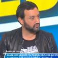 """Cyril Hanouna réagi aux vannes de Stéphane Guillon dans """"TPMP"""", le 26 octobre 2016 sur C8."""