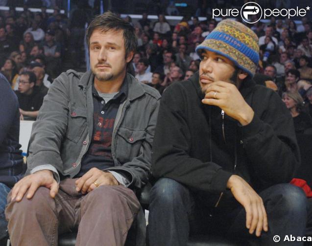 Ben Harper et David Arquette