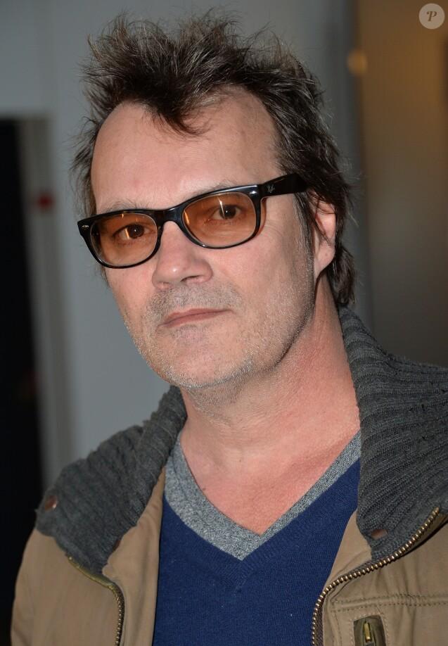Axel Bauer lors de la soirée d'ouverture du Club C White à Paris, le 10 avril 2014.