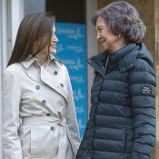 Letizia et Sofia d'Espagne : Unies, après le scandale, au chevet de Juan Carlos