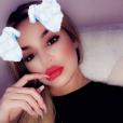 Khloé Kardashian (enceinte) quelques heures avant les révélations des infidélités de Tristan Thompson le 10 avril 2018