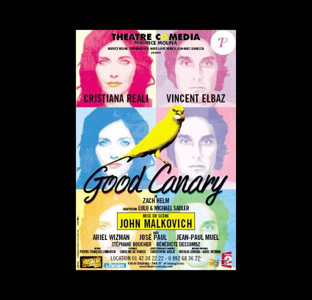 Affiche de la pièce Good Canary