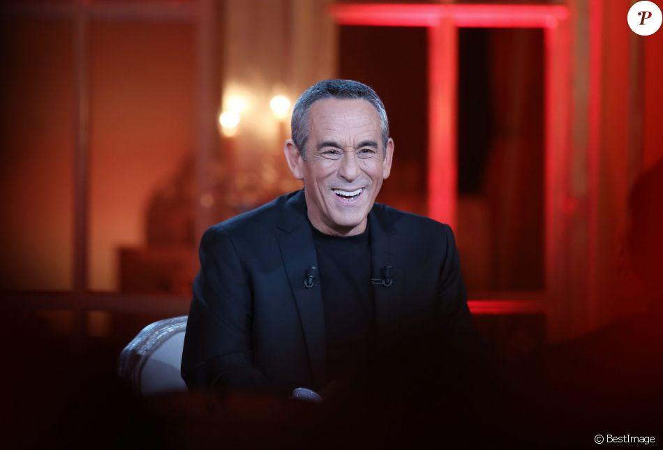 """Exclusif - Enregistrement de l'émission """"Salut les Terriens"""" de Thierry Ardisson avec Marc-Olivier Fogiel. Le 5 février 2015"""