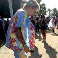 Justin Bieber au Coachella Festival le 13 avril 2018.